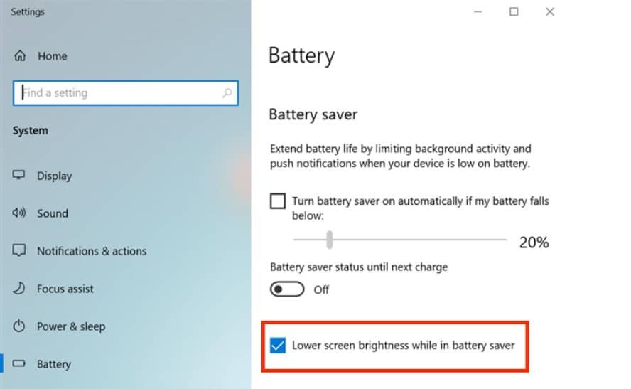 change brightness on windows 10